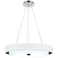 Aires LED 17 inch White Chandelier Ceiling Light