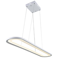 CWI Lighting 7111P27-103 Capel LED 27 inch White Island/Pool Table Ceiling Light
