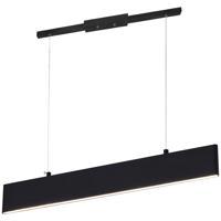 CWI Lighting 7145P25-1-253-RC Krista 3 inch 12.00 watt Satin Black Pool Table Light Portable Light