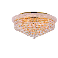 CWI Lighting 8001C24G Empire 13 Light 24 inch Gold Flush Mount Ceiling Light