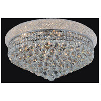 Empire 19 Light 28 inch Chrome Flush Mount Ceiling Light