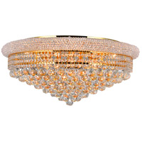 Empire 19 Light 28 inch Gold Flush Mount Ceiling Light