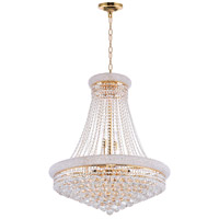 Empire 18 Light 28 inch Gold Chandelier Ceiling Light