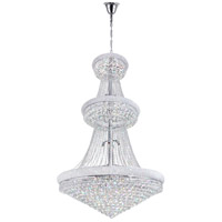 Empire 38 Light 42 inch Chrome Chandelier Ceiling Light