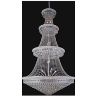 Empire 48 Light 54 inch Chrome Chandelier Ceiling Light