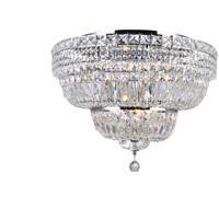 CWI Lighting 8003C24C Stefania 9 Light 24 inch Chrome Flush Mount Ceiling Light