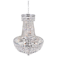 Stefania 13 Light 22 inch Chrome Chandelier Ceiling Light