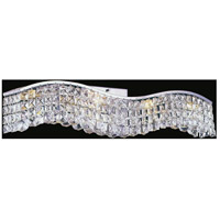 CWI Lighting 8004W30C-B-(CLEAR) Glamorous 5 Light 5 inch Chrome Wall Sconce Wall Light