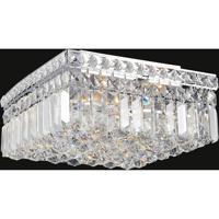 CWI Lighting 8005C12C-S Colosseum 4 Light 12 inch Chrome Flush Mount Ceiling Light