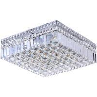 CWI Lighting 8005C16C-S Colosseum 5 Light 16 inch Chrome Flush Mount Ceiling Light