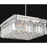 CWI Lighting 8005P12C-S Colosseum 4 Light 12 inch Chrome Chandelier Ceiling Light