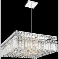 CWI Lighting 8005P14C-S Colosseum 6 Light 14 inch Chrome Chandelier Ceiling Light