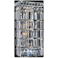 CWI Lighting 8007W7C Colosseum 4 Light 5 inch Chrome Wall Sconce Wall Light