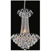 Glimmer 11 Light 16 inch Chrome Chandelier Ceiling Light