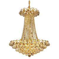 Glimmer 11 Light 21 inch Gold Pendant Ceiling Light