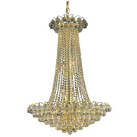Glimmer 11 Light 24 inch Gold Pendant Ceiling Light