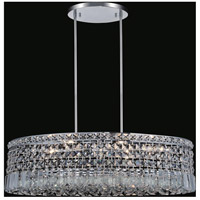 CWI Lighting 8030P18C-S Colosseum 8 Light 18 inch Chrome Chandelier Ceiling Light