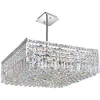 CWI Lighting 8030P22C-S Colosseum 10 Light 22 inch Chrome Chandelier Ceiling Light
