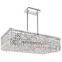 Colosseum 10 Light 30 inch Chrome Chandelier Ceiling Light