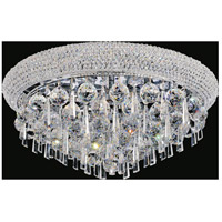 CWI Lighting 8040C20C Kingdom 7 Light 20 inch Chrome Flush Mount Ceiling Light