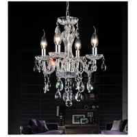 CWI Lighting Chrome Metal Princeton Pendants