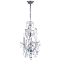 Chrome Glass Maria Theresa Mini Chandeliers