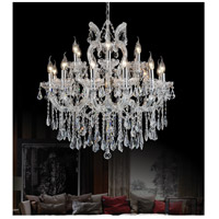 Maria Theresa 19 Light 30 inch Chrome Chandelier Ceiling Light