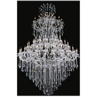 Maria Theresa 84 Light 70 inch Chrome Chandelier Ceiling Light