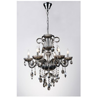 CWI Lighting Chrome Casper Chandeliers