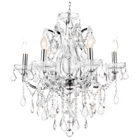 Stainless Steel Maria Theresa Chandeliers