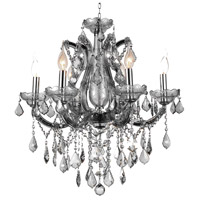 Maria Theresa 6 Light 24 inch Chrome Chandelier Ceiling Light