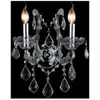 Maria Theresa 2 Light 12 inch Chrome Wall Sconce Wall Light