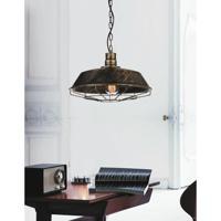 CWI Lighting 9611P11-1-128 Morgan 1 Light 11 inch Antique Copper Pendant Ceiling Light