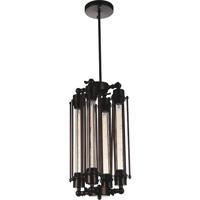 CWI Lighting 9613P10-4-126 Kiera 4 Light 10 inch Chocolate Pendant Ceiling Light