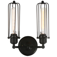 Benji 2 Light 5 inch Black Wall Sconce Wall Light