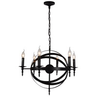 CWI Lighting Metal Troy Chandeliers