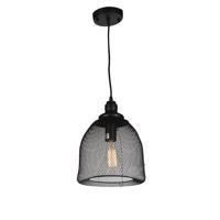 CWI Lighting 9638P10-1-101 Drea 1 Light 10 inch Black Pendant Ceiling Light