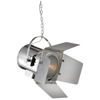 CWI Lighting Chrome Metal Pendants