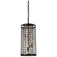 CWI Lighting 9697P11-4-192 Meghna 4 Light 11 inch Brown Pendant Ceiling Light