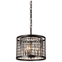 CWI Lighting 9697P14-4-192 Meghna 4 Light 14 inch Brown Pendant Ceiling Light photo thumbnail