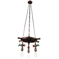 CWI Lighting Copper Chandeliers