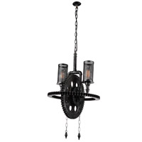 CWI Lighting 9719P20-2-187 Manchi 2 Light 20 inch Gray Up Chandelier Ceiling Light