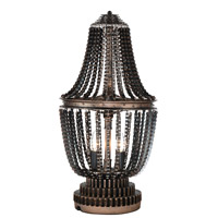 CWI Lighting 9727T13-2-211 Kala 25 inch 60 watt Antique Bronze Table Lamp Portable Light
