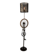 CWI Lighting 9733F15-1-212 Bici 70 inch 60.00 watt Antique Brass Floor Lamp Portable Light