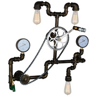 CWI Lighting 9734W30-3-212-A Bici 3 Light 9 inch Blackened Bronze Wall Sconce Wall Light
