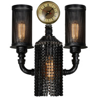 CWI Lighting 9739W15-2-187 Union 2 Light 11 inch Gray Wall Sconce Wall Light