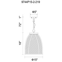 CWI Lighting Black Metal Chandeliers