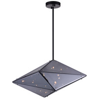 Pento 8 Light 24 inch Black Pendant Ceiling Light