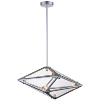 Pento 8 Light 24 inch Silver Pendant Ceiling Light