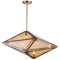 Pento 8 Light 29 inch Champagne Pendant Ceiling Light